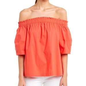 NWT Red Laundry Top